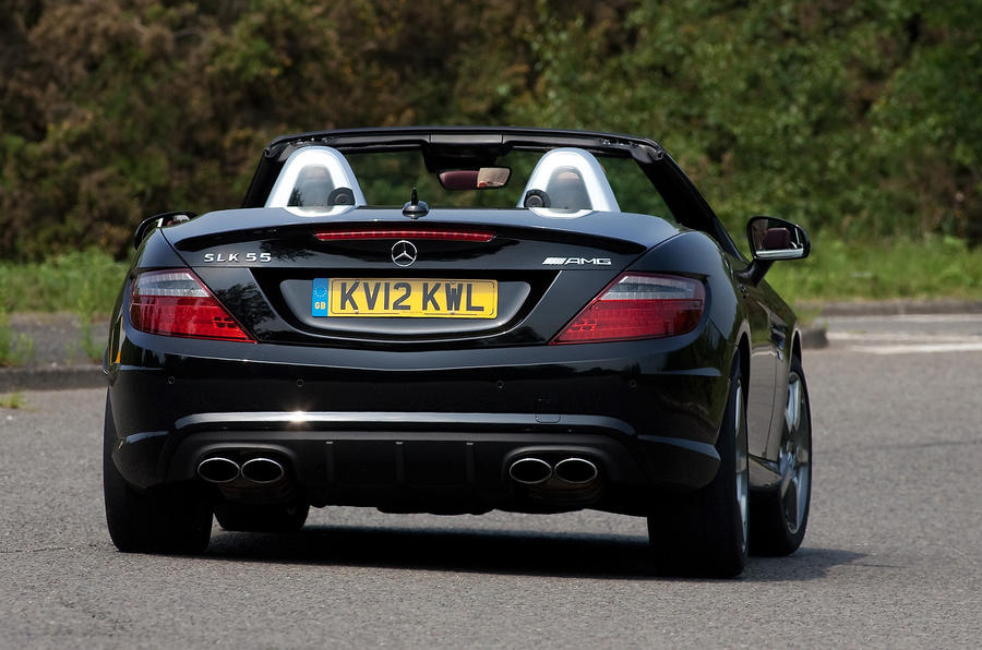 Mercedes-AMG SLK 55 rear quarter
