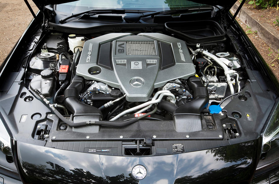 Mercedes-AMG SLK 55 5.5-litre V8 engine