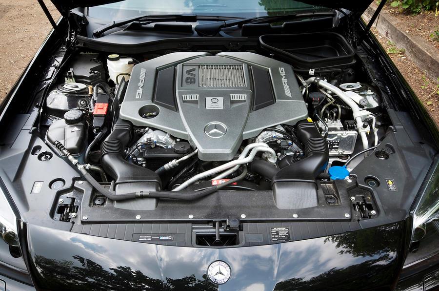 Mercedes-AMG SLK 55 5.5-litre V8 engine
