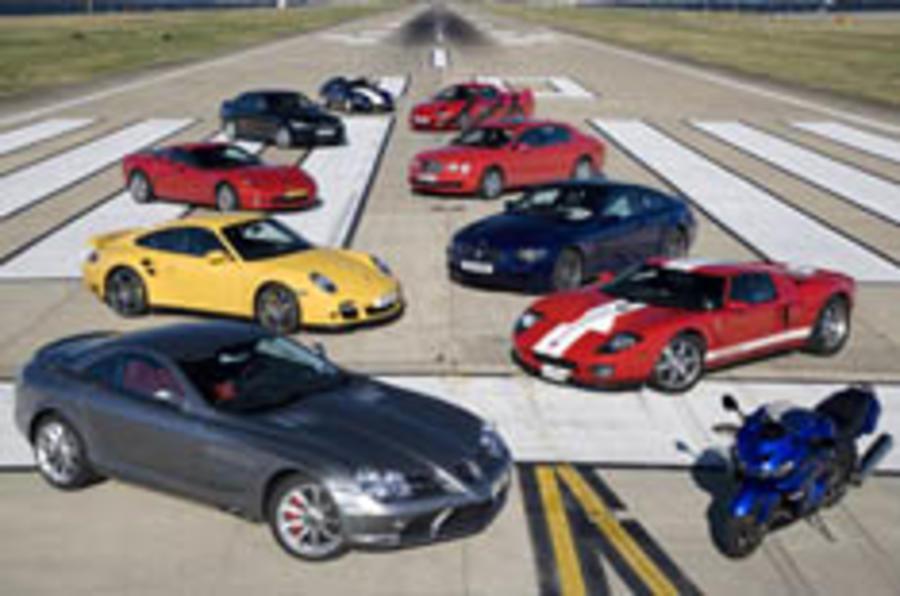 Watch Autocar set London Speed Record