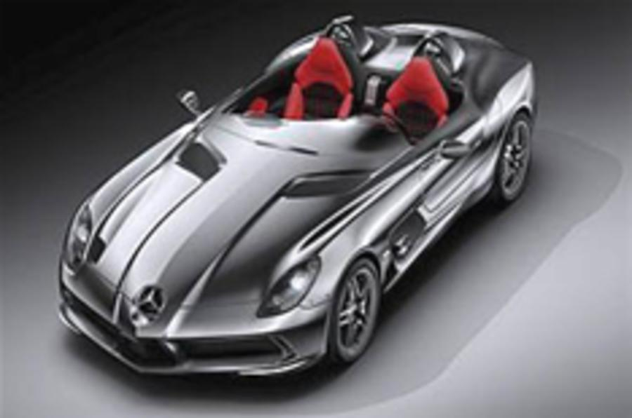 Merc SLR speedster revealed