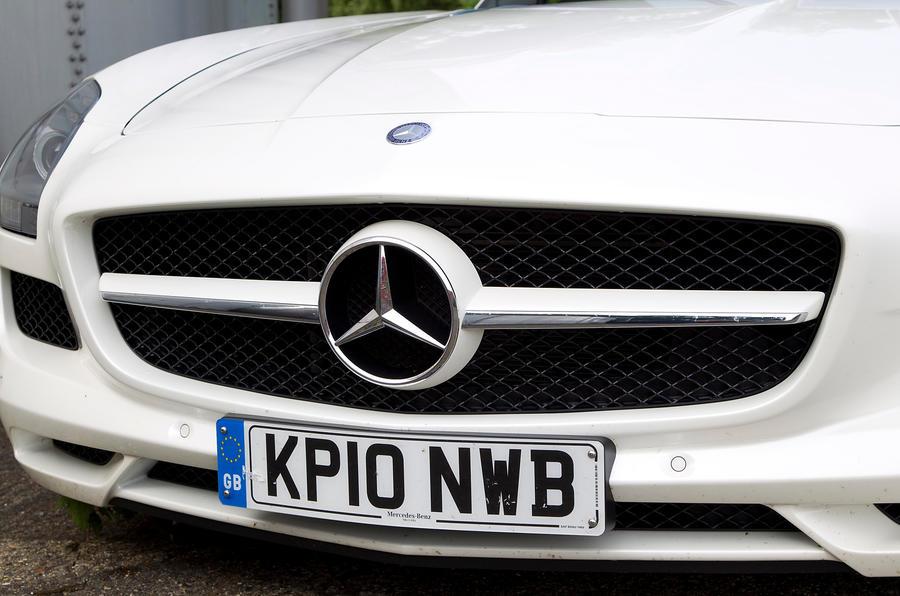 Mercedes-AMG SLS front grille