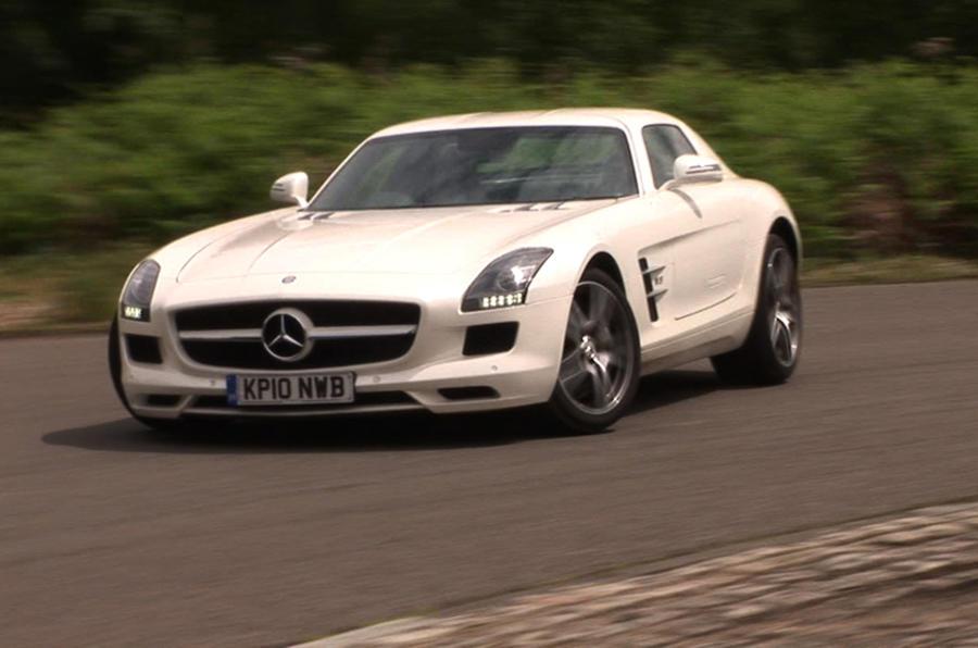 Mercedes SLS in 3D