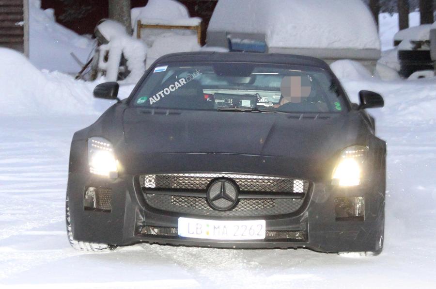 Merc SLS Black Series - new pics