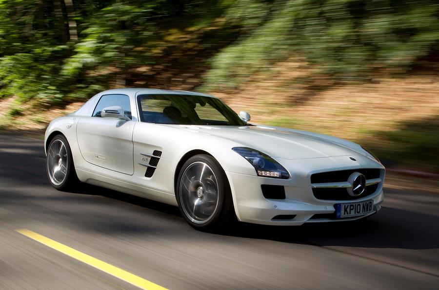 Mercedes-AMG SLS front quarter