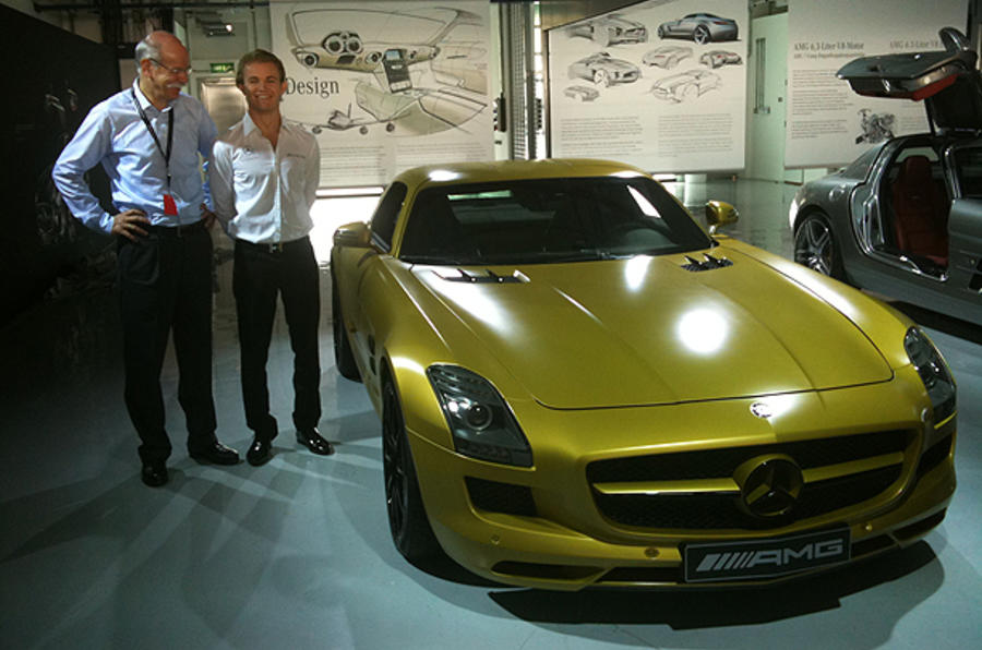 AMG boss changes job