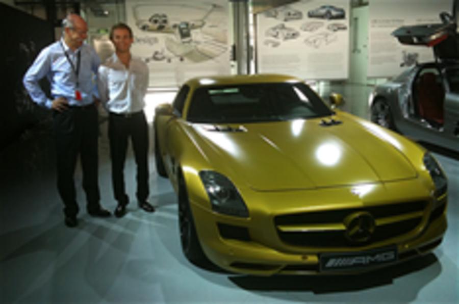 Merc reveals SLS Desert Gold