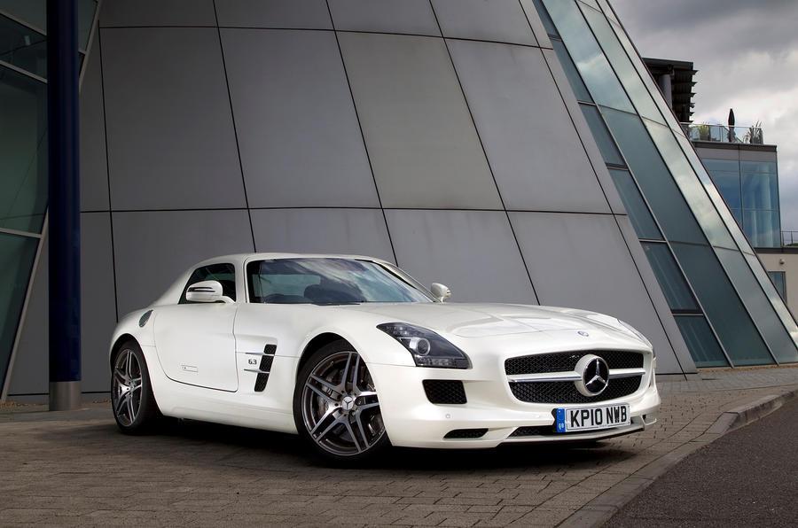 4.5 star Mercedes-AMG SLS