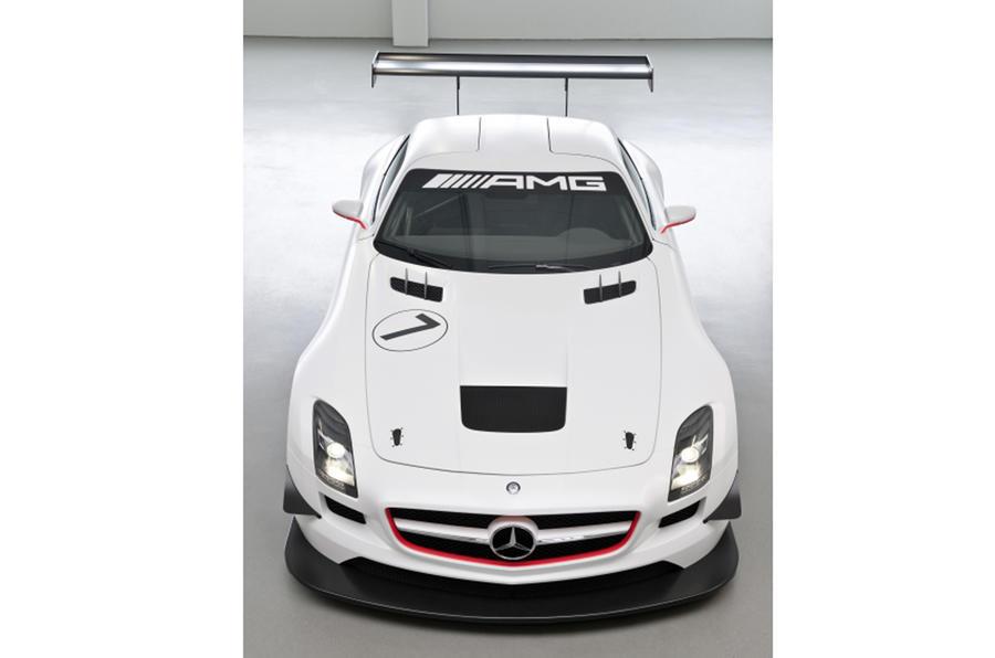 Merc SLS GT's Black Series hint