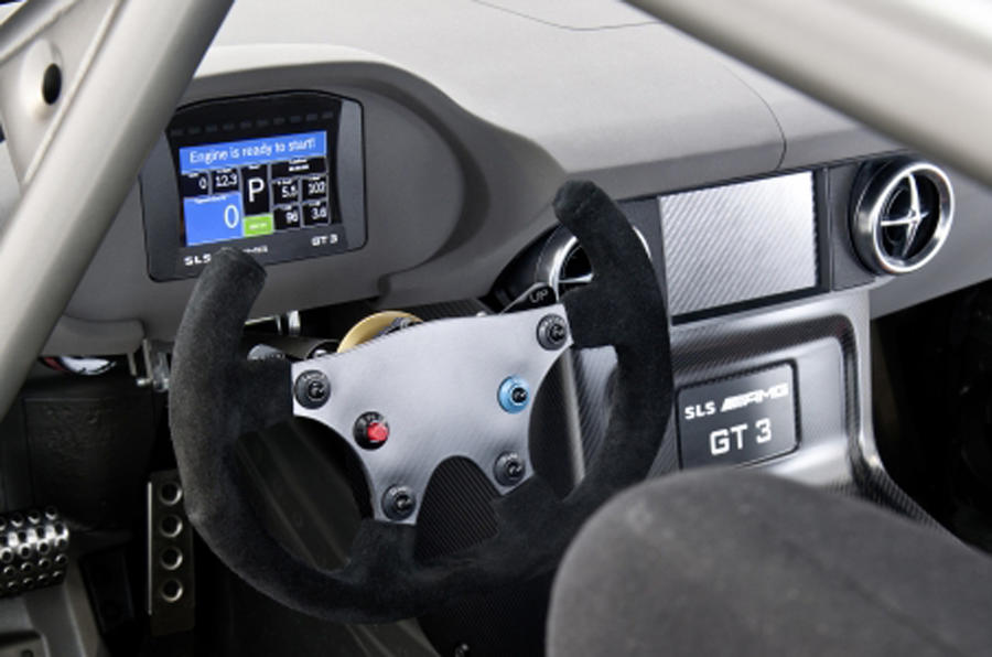 Mercedes SLS GT3 - new pics