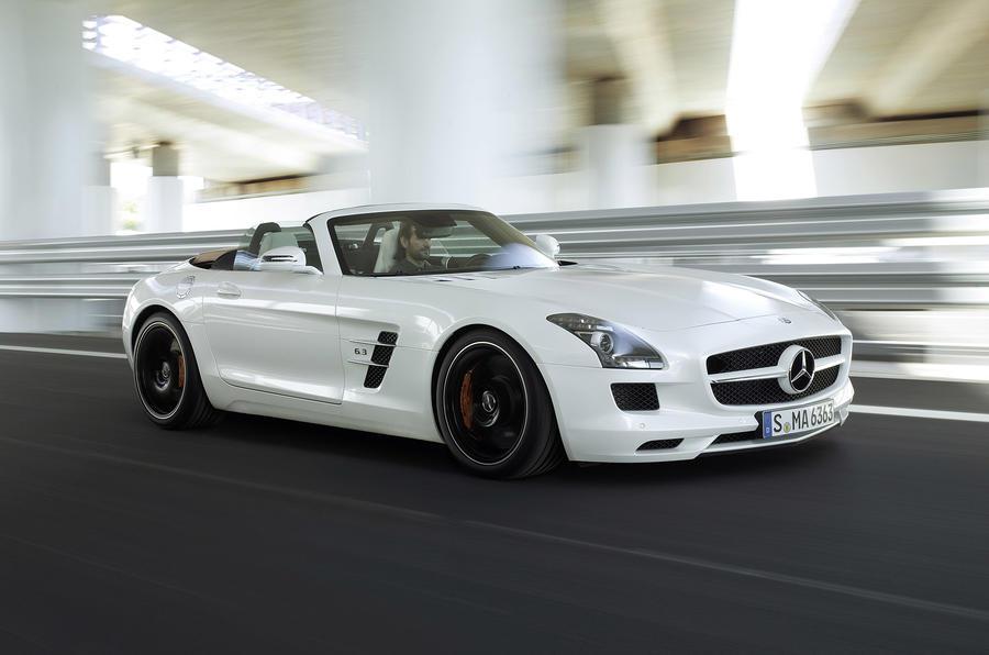 Frankfurt show - Mercedes SLS Roadster