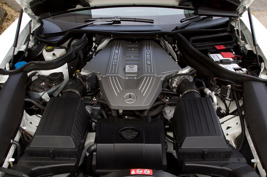Mercedes-AMG SLS 6.2-litre V8 engine