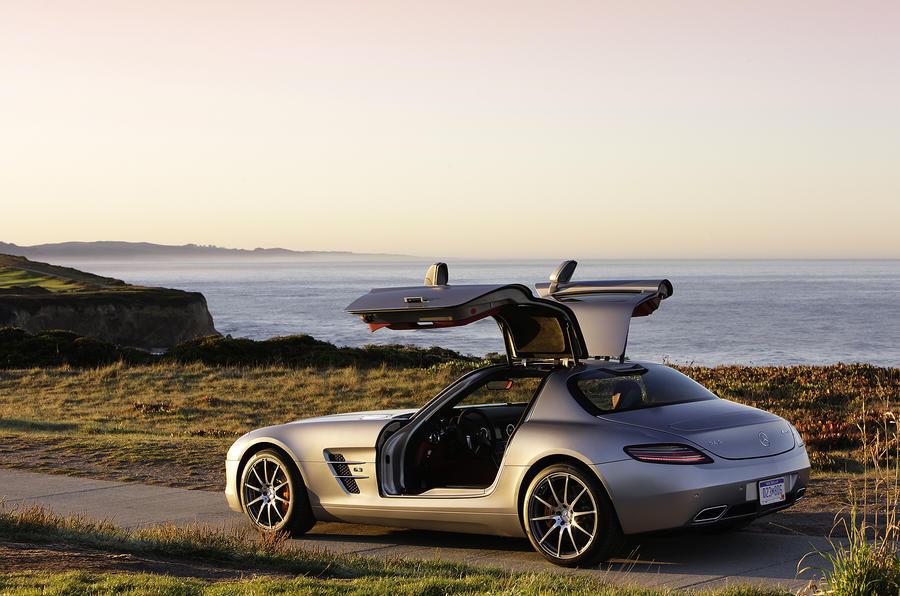Mercedes SLS to cost £157,500