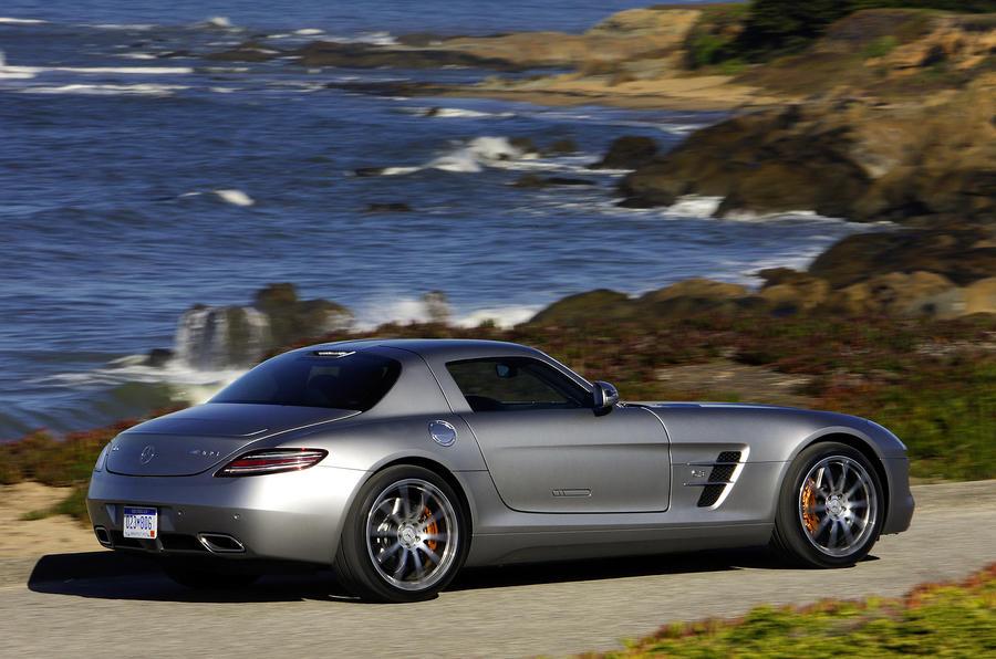 Mercedes sls to cost 157 500 autocar for New mercedes benz supercar
