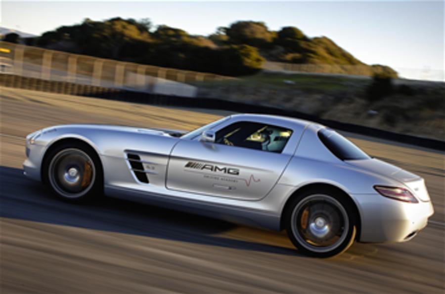 Win a test drive in the Merc SLS