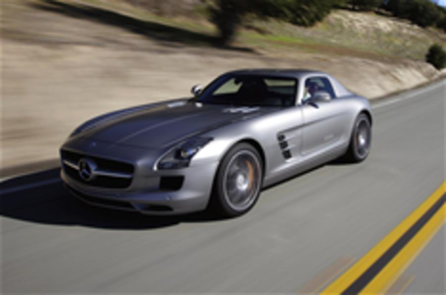 Electric Merc SLS - more details