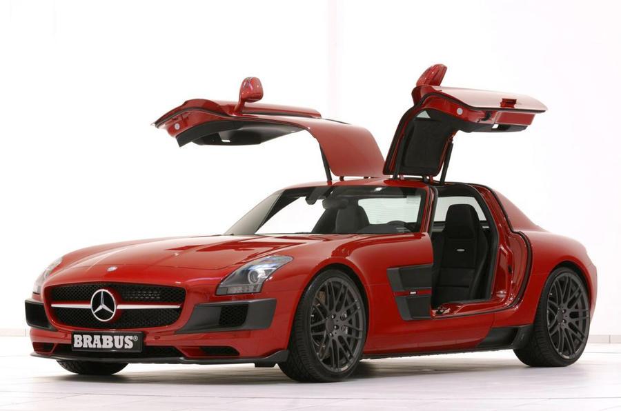 Brabus 'Widestar' SLS unveiled