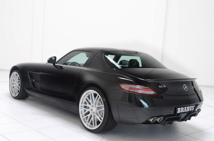 Brabus boosts Merc SLS AMG