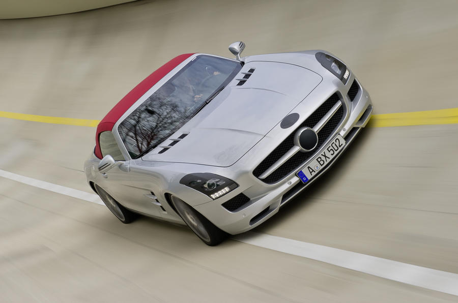 Mercedes shows SLS Roadster