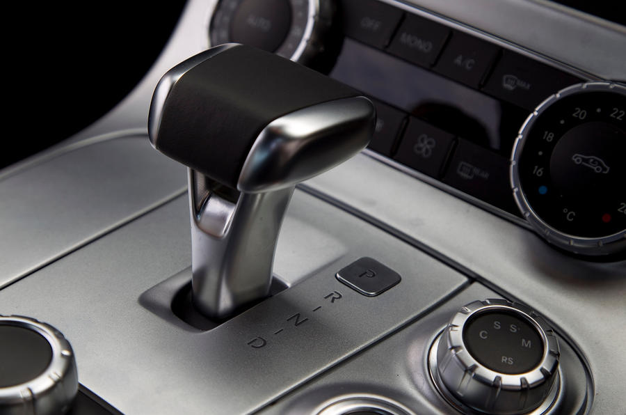 Mercedes-AMG SLS automatic gearbox