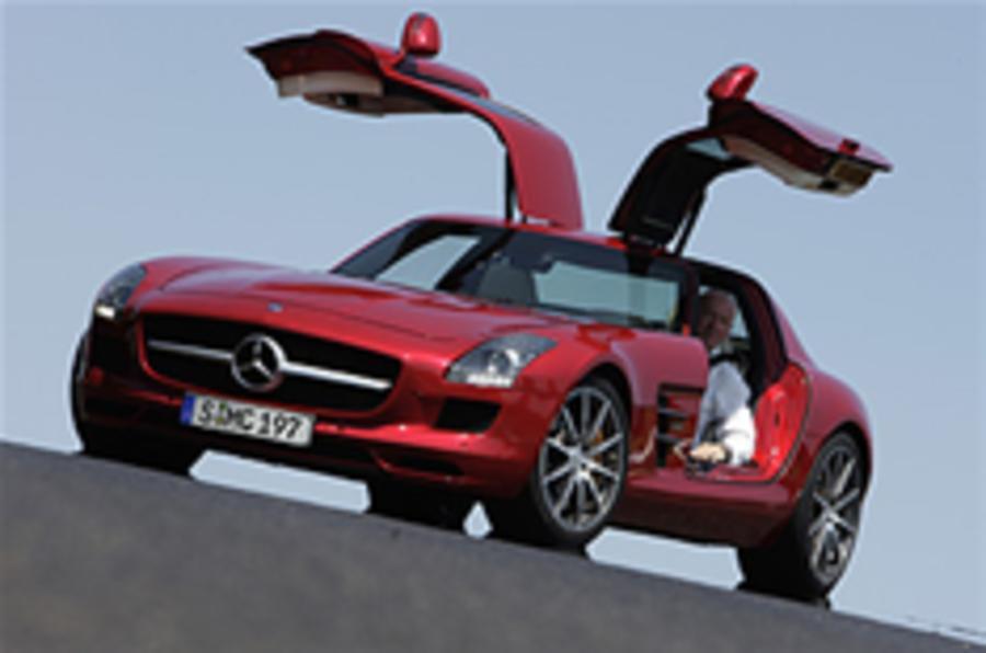 Frankfurt motor show: Mercedes SLS