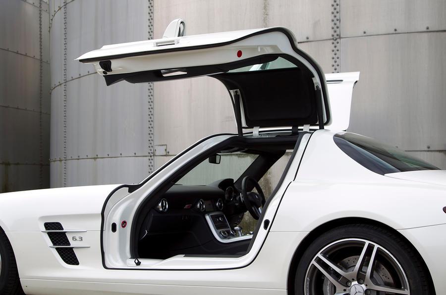 Mercedes-AMG SLS gullwing doors