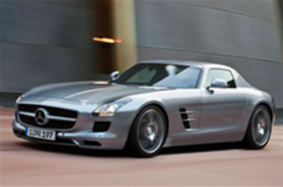 Mercedes SLS supercar revealed