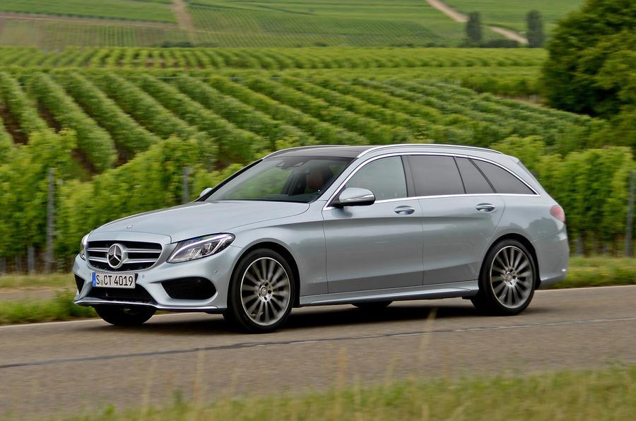 Elegant MercedesBenz CClass C 250 Bluetec Estate First Drive