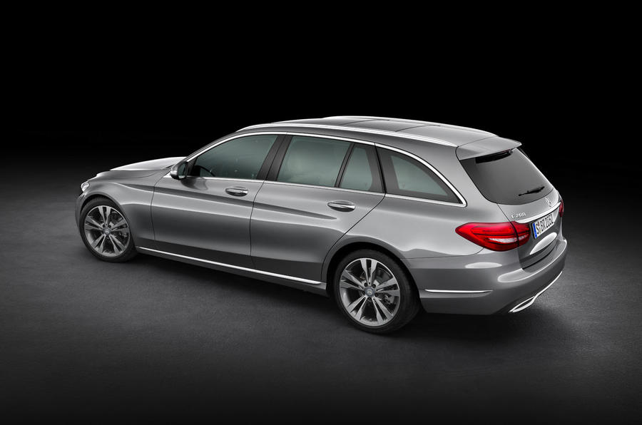 New C Class Estate To Get Four Wheel Drive Option In 2015