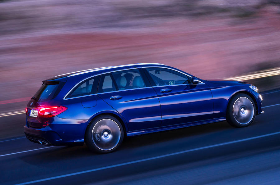 New Mercedes C-class estate revealed