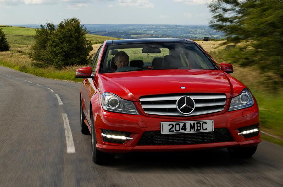 Mercedes-Benz C-Class front quarter