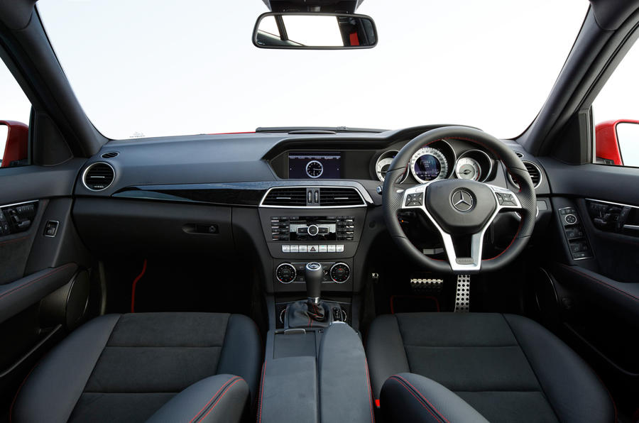 Mercedes-Benz C-Class dashboard