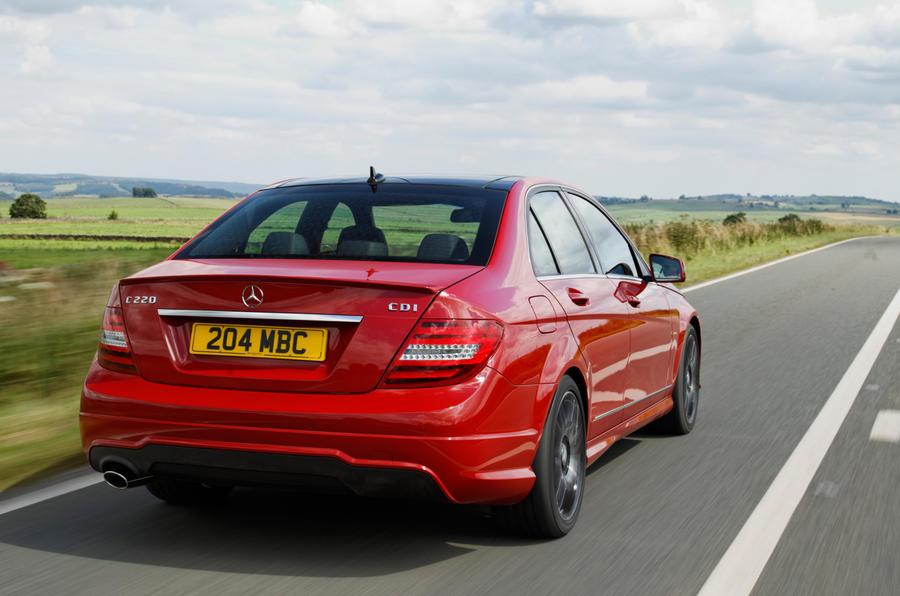 Mercedes-Benz C-Class rear quarter