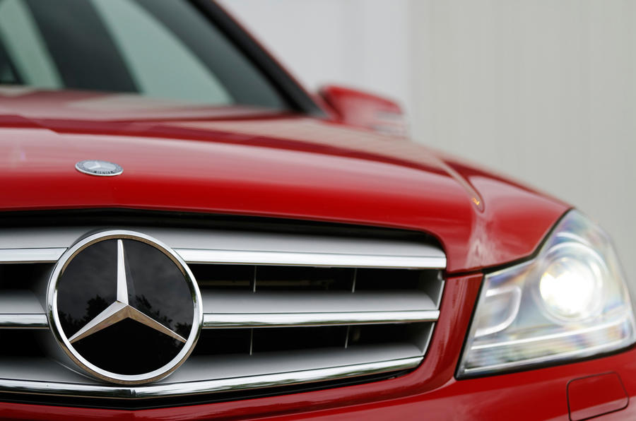Mercedes-Benz C-Class front grille