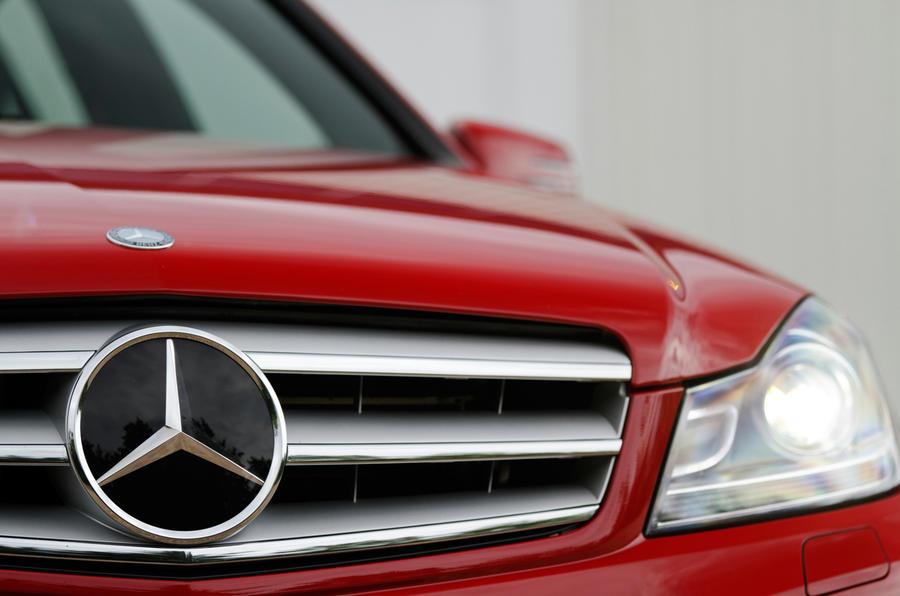 Mercedes-Benz C-Class front grille
