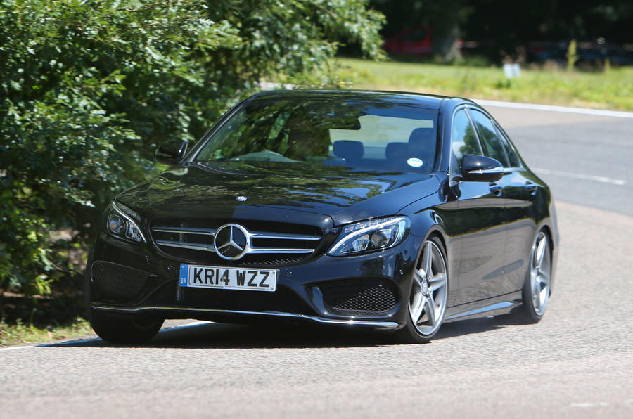 Mercedes-Benz C-Class cornering