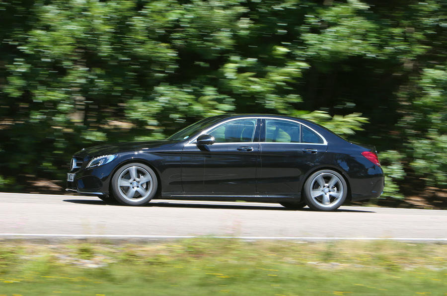 Mercedes-Benz C-Class side profile