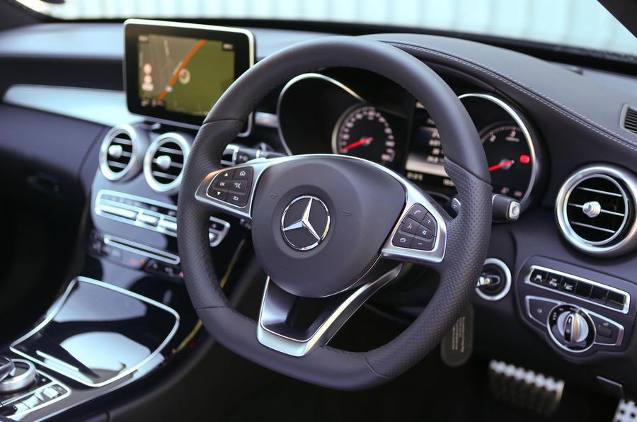 Mercedes-Benz C-Class steering wheel