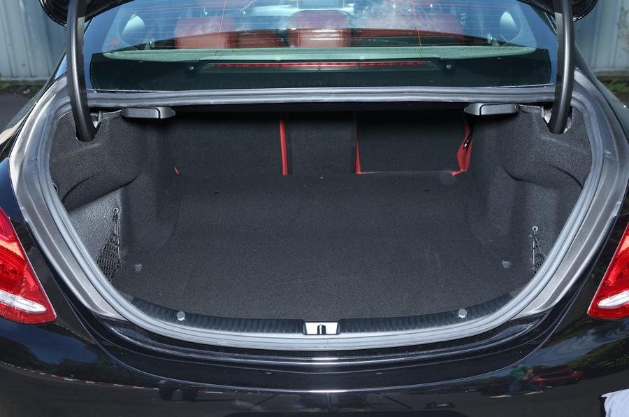 Mercedes-Benz C-Class boot space
