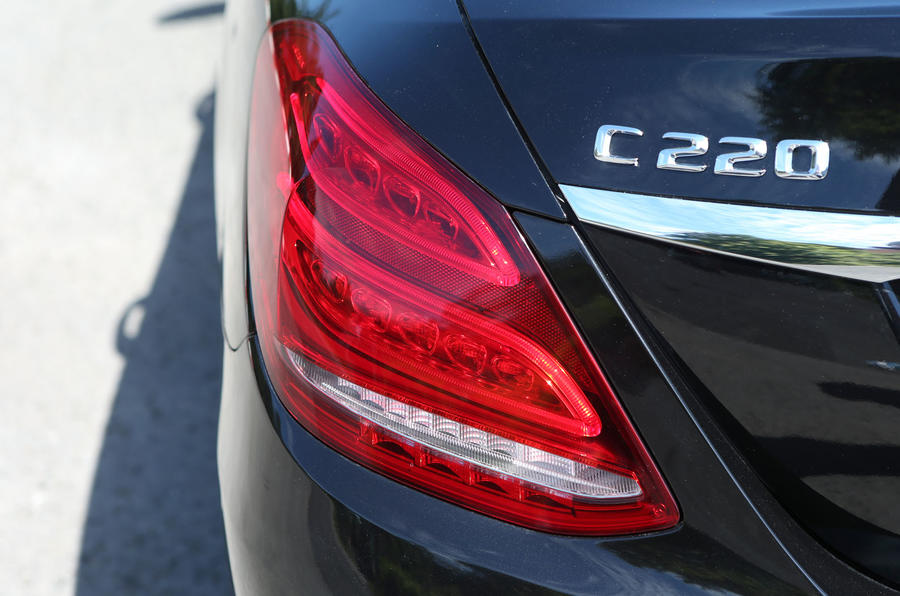 Mercedes-Benz C-Class rear lights