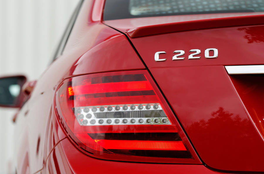 Mercedes-Benz C-Class rear light