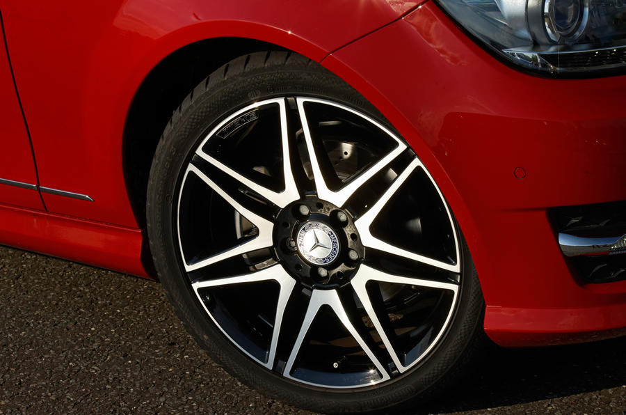 18in Mercedes-Benz C-Class alloys