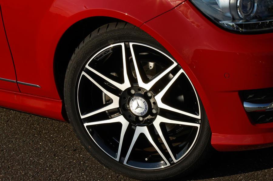 18in Mercedes-Benz C-Class alloys