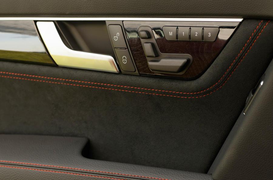 Mercedes-Benz C-Class door card