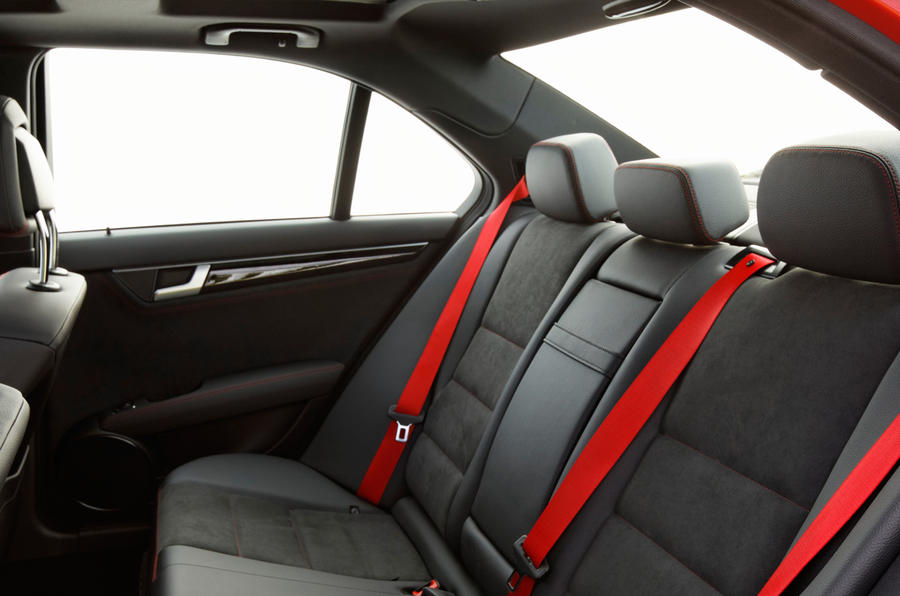 Mercedes-Benz C-Class rear seats