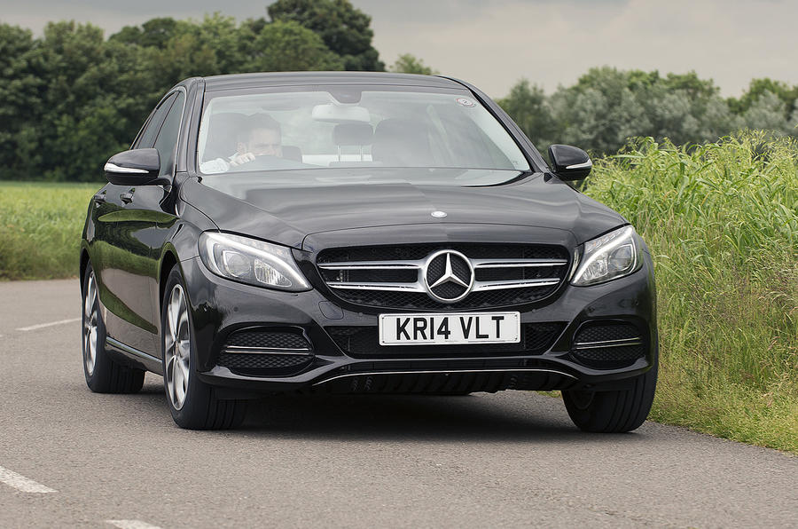 2014 mercedes benz c class c 220 uk first drive. Black Bedroom Furniture Sets. Home Design Ideas