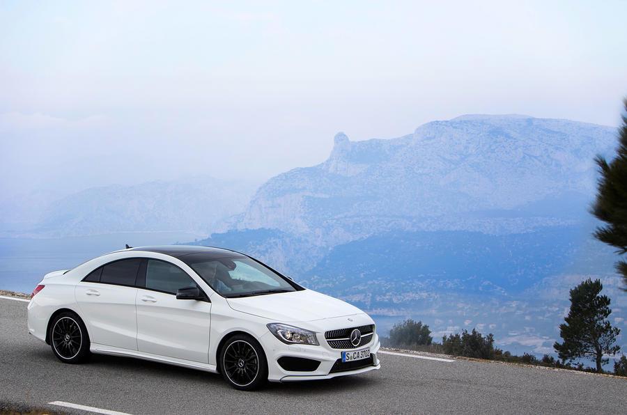 £26,000 Mercedes-Benz CLA 220 CDI