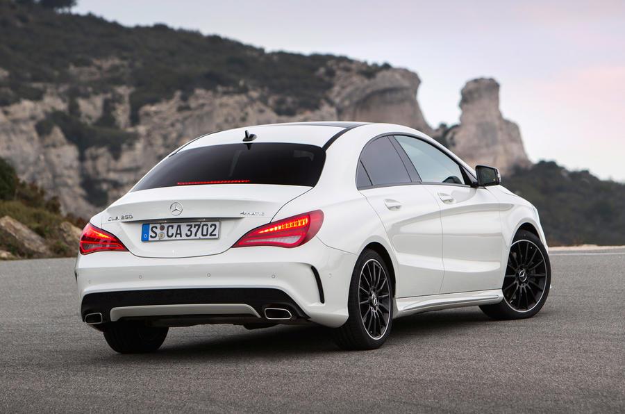 Mercedes-Benz CLA 220 CDI rear