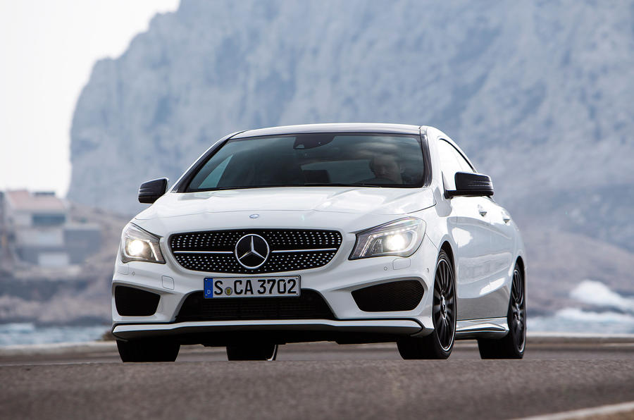 Mercedes-Benz CLA 220 CDI front end
