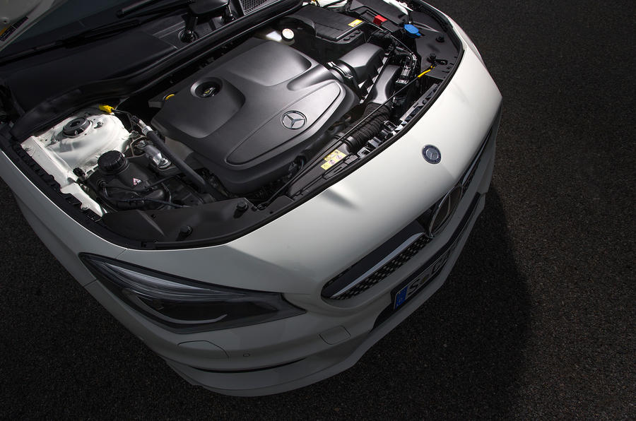 2.1-litre Mercedes-Benz CLA diesel engine